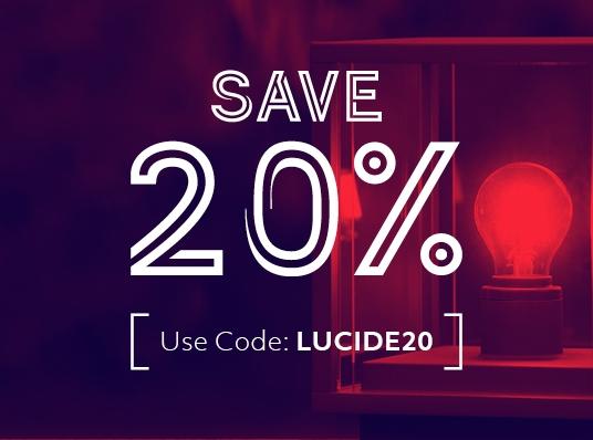 20% off Lucide Outdoor Lighting