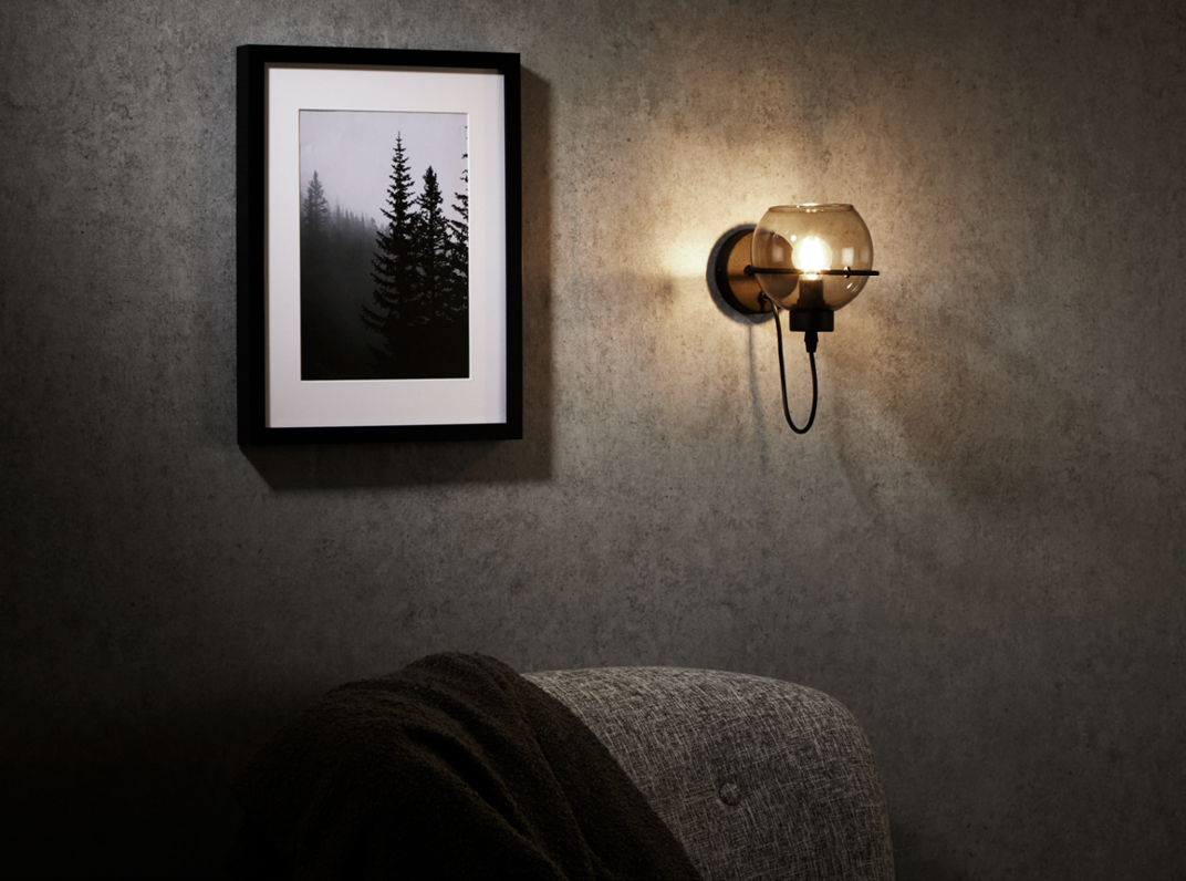 Single Arm Wall Lights