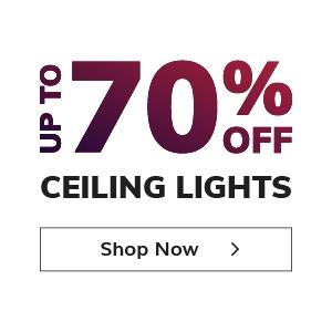 70% off Ceiling Lights