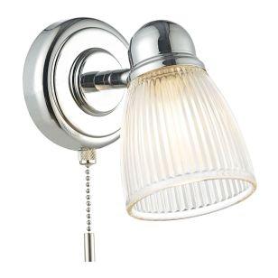Dar Cedric Wall Light - Polished Chrome