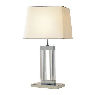 Dar Domain Table Lamp - Polished Chrome