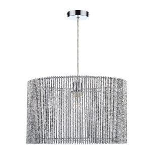 Dar Nest Lamp Shade - Silver
