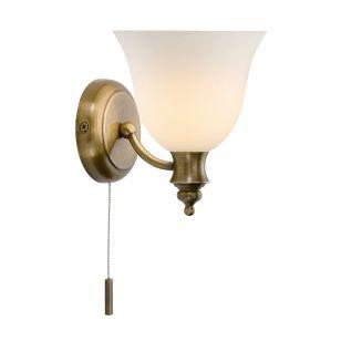 Dar Oboe Wall Light - Antique Brass