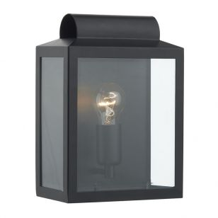 Dar Notary Flush Light - Black