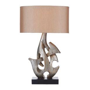 Dar Sabre Table Lamp - Silver