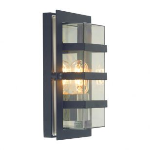 Norlys Boden Outdoor Flush Wall Light - Black