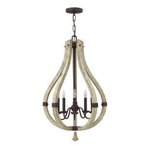 Hinkley Middlefield 5 Light Chandelier - Iron