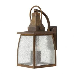 Hinkley Montauk Outdoor Lantern Wall Light - Rustic