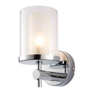 Endon Britton Wall Light - Chrome