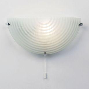 Endon Roundel Wall Light - Chrome
