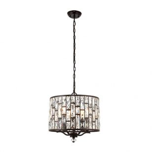 Endon Belle 5 Light Ceiling Pendant Light - Bronze
