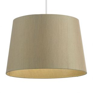 Endon Cordelia Gold Lamp Shade - 12 Inch