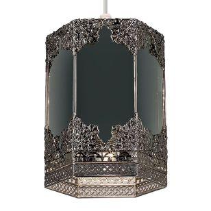 Endon Morro Ceiling Pendant Light - Mirror