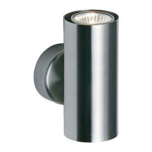 Endon Odi Up & Down Wall Light - Satin Nickel