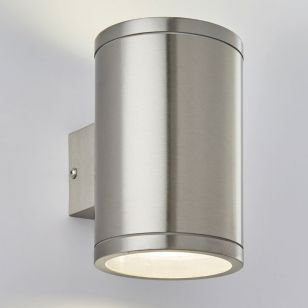 Edit Coastal Neo LED Outdoor Up & Down Wall Light - Stainless Steel