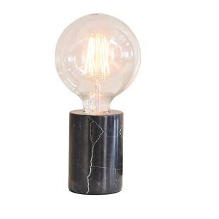 Edit Gramercy Marble Table Lamp - Black