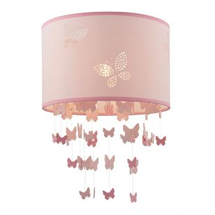 Endon Amathea Ceiling Pendant Shade - Pink