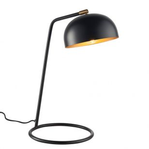 Endon Brair Desk Lamp - Matt Black