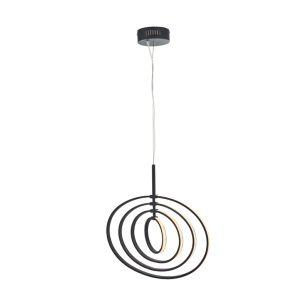 Endon Avali LED Ceiling Pendant Light - Matt Black