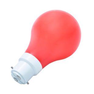 1W Red LED GLS Bulb - Bayonet Cap