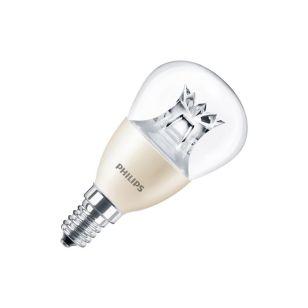 Philips 6W Warm White DimTone LED Golf Ball Bulb - Small Screw Cap