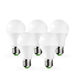 Lyco 10W Warm White LED GLS Bulb - Screw Cap - Pack of 5