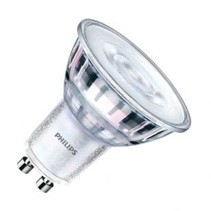 Philips CorePro LEDspot 4.6W Warm White 2700k LED GU10 Bulb - Flood Beam