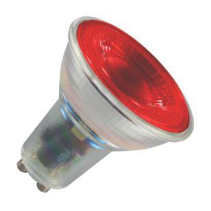 Crompton 4.5W Red LED GU10 Bulb - Flood Beam