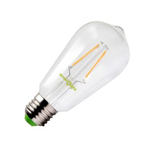 Envirolight 4W Very Warm White LED Decroative Filament Squirrel Cage - Screw Cap