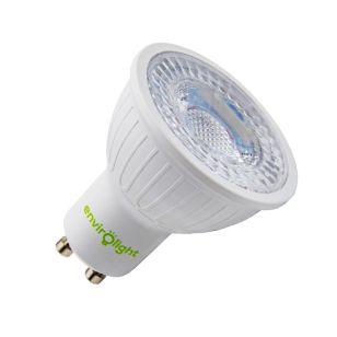Envirolight 3W Cool White LED GU10 Bulb  - Flood Beam