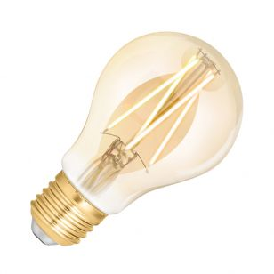WiZ 6.5W White Changing Dimmable LED Decorative Filament Smart WiFi Amber GLS Bulb - Screw Cap