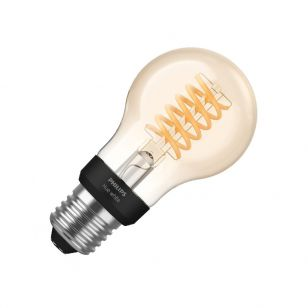 Philips Hue 7W Very Warm White LED Dimmable Bluetooth Decorative Filament GLS Bulb - Screw Cap