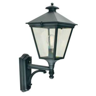 Norlys Turin Outdoor Lantern Wall Light - Black