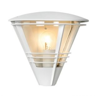 Lucide Livia Outdoor Wall Light - White