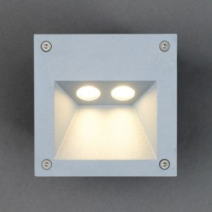 Edit Rimo LED Outdoor Wall Light - Silver