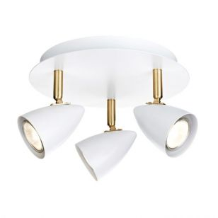 Ciro 3 Light Spotlight Plate - White