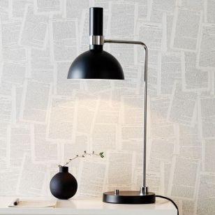 Larry Table Lamp - Black