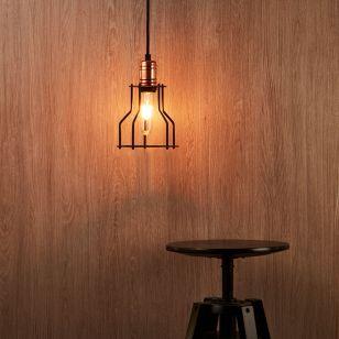 Edit Workshop Ceiling Pendant Light - Black and Copper