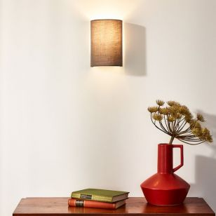 Lucide Coral Wall Light - Grey