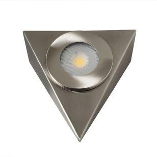 Robus Royal Warm White LED Cabinet Light - Brushed Chrome