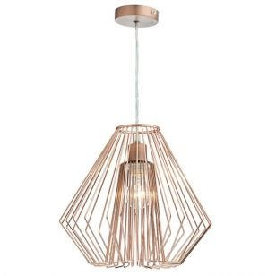 Dar Needle Ceiling Pendant Shade - Copper