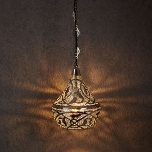 Edit Souk Ceiling Pendant Light - Silver