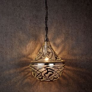 Edit Souk Large Ceiling Pendant Light - Silver