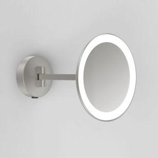 Astro Mascali LED Magnifying Mirror Light - Matt Nickel