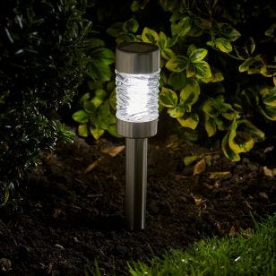 Martini Solar LED Stake Lights - Pack of 4