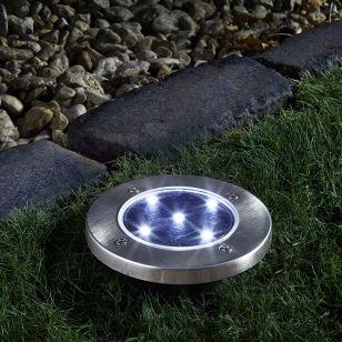 Up Solar LED Ground Stake Light - Pack of 3