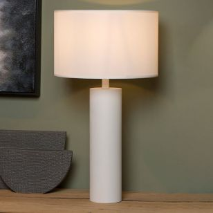 Lucide Yessin Table Lamp - White