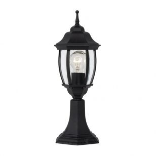 Lucide Tireno Outdoor Pedestal Light - Black