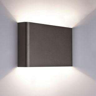 Edit Haga Up & Down Wall Light - Graphite