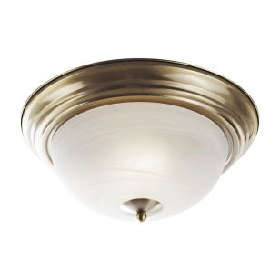 Edit Top Flush Ceiling Light - Bronze